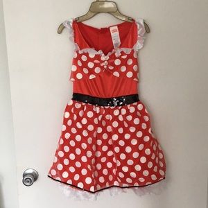 Minnie Mouse Halloween Costume Size L(10-12)